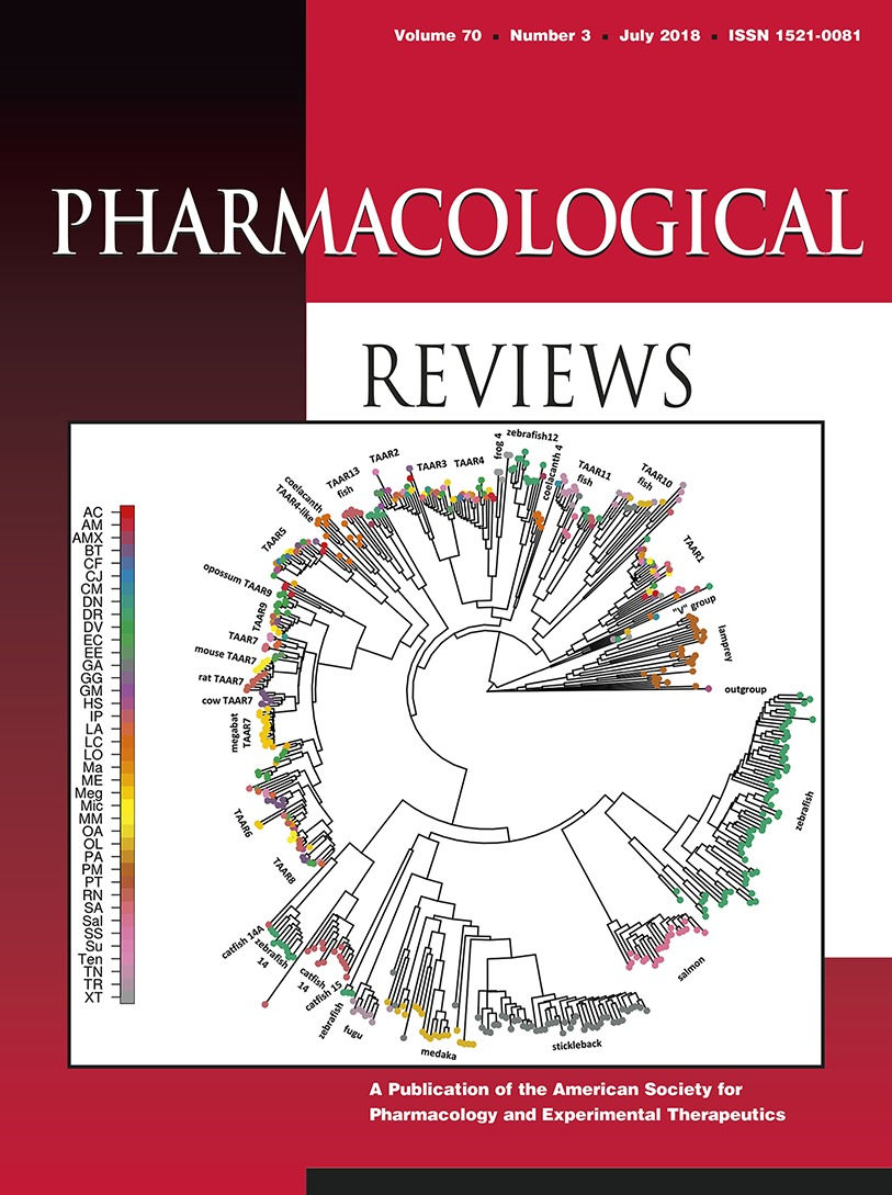 Trace Amines And Their Receptors Pharmacological Reviews