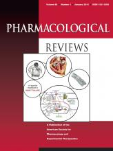 Pharmacological Reviews: 66 (1)